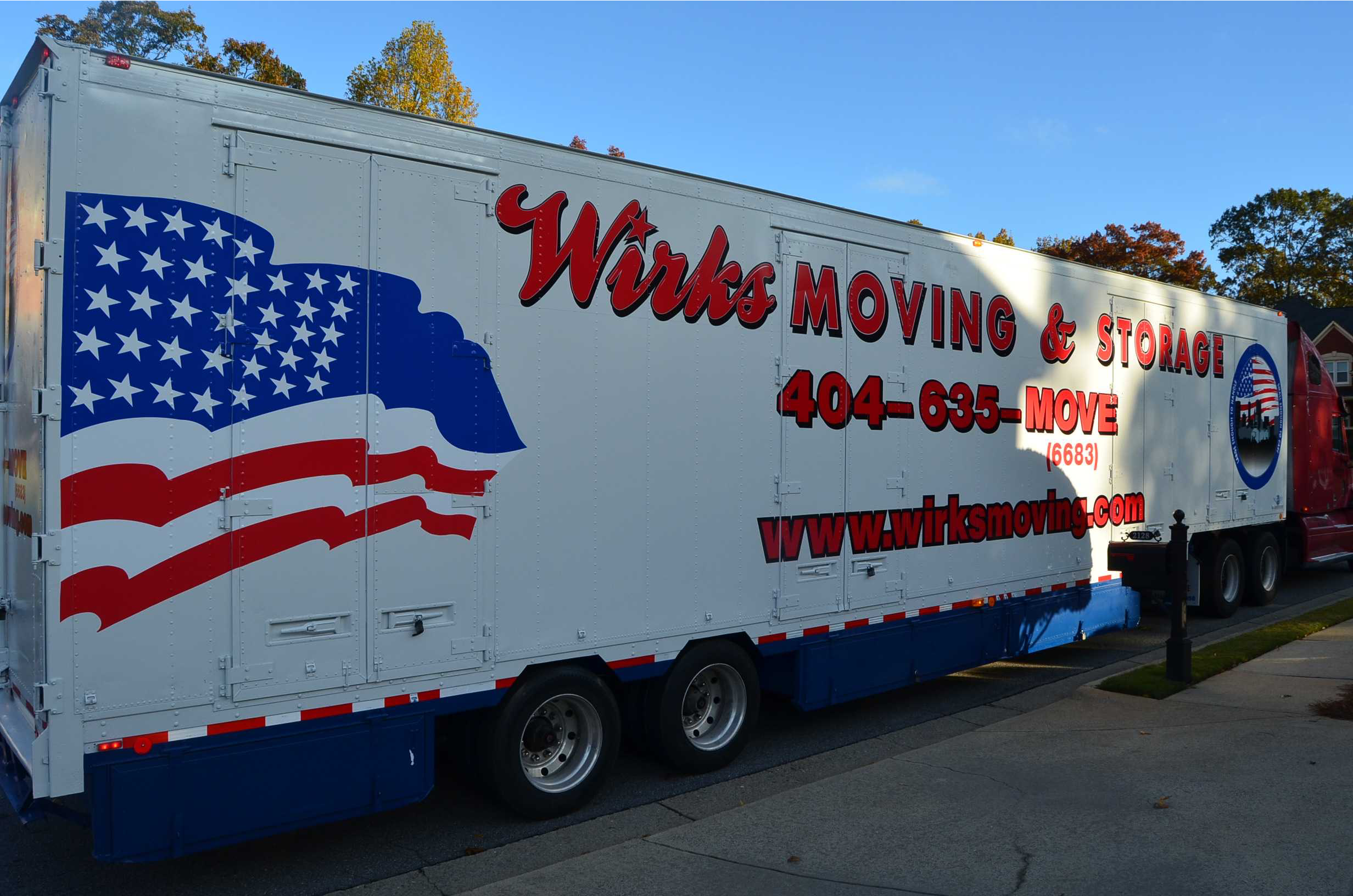 Wirks Moving Long Distance Moving Truck