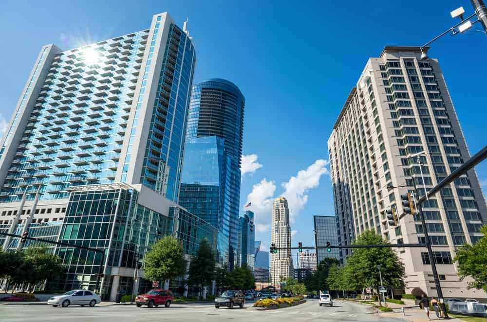 Buildings in downtown Atlanta
