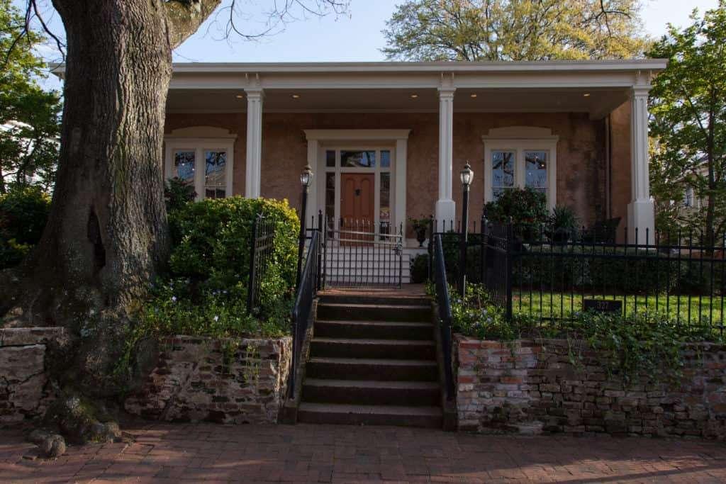 The LP Grant Mansion in Grant Park, Atlanta, GA